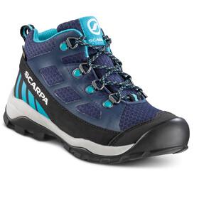 Scarpa Neutron GTX Mid Shoes Kids blue/turqouise